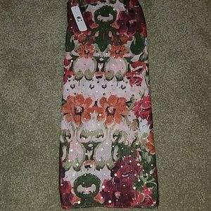 BRAND NEW Floral scarf